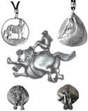 Pewter Horse Jewelry
