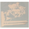 Jumping Horse & Rider Vinyl Decal