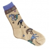Home On The Range Sock - Child - Equestrian Apparel Horse Socks.