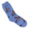 Horse Chores Sock - Child - Equestrian Apparel Horse Socks.