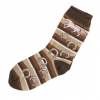 Chocolate Delight Horse Sock - Child - Equestrian Apparel Horse Socks.