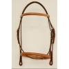 "Plain Raised Edgewood 3/4"" Bridle with Padded Crown, Browband and Noseband"