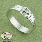 Buckle Ring - Horse Jewelry