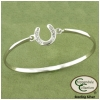 Horseshoe Bangle Bracelet Horse Jewelry