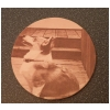 Leather Coasters - Engraved Photo