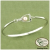 Stirrup Bangle Bracelet - Equestrian Jewelry