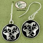 Celtic Triple Horse Knot Earrings - Horse Jewelry