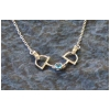 Dee Bit English Snaffle Necklace - Sterling Silver - Horse Jewelry