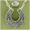 Decorative Horseshoe Necklace - Equestrian Jewelry