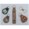 Horse Head Key Fob - Brown