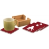 Ceramic Coasters & Holder - Breed Logo