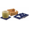 Ceramic Coasters & Holder - Horse Design