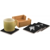Ceramic Coasters & Holder - Horse Design 2