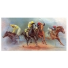 Battle For The 1989 Triple Crown - Canvas