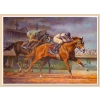 I'll Have Another Canvas featuring Kentucky Derby winner I'll Have Another - Artwork by Horse Racing Artist Fred Stone.