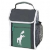 Green Bucking Horse Lunch Sack