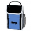 Blue Jumping Horse Lunch Sack