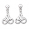 Double Snaffle Bit Earrings