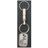 Bucking horse valet key chain.