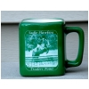 Ceramic Square Coffee Mug - Engraved Photo