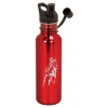 Custom Engraved Stainless Steel Water Bottle with Horse Design