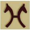 German Hanoverian Breed Logo Magnet  - Plastic