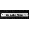 Custom Engraved Nickel Silver Halter Plate - Breed Logo