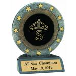 All Star Resin Trophy - Breed Logo
