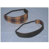 Running Horse Plaid Headband - Narrow