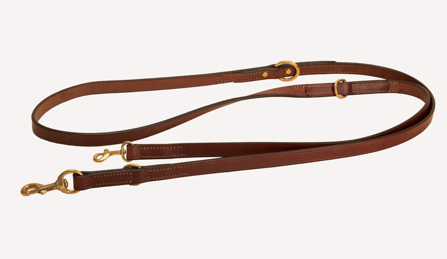 Havana hands free dog leash or long dog leash with handle.
