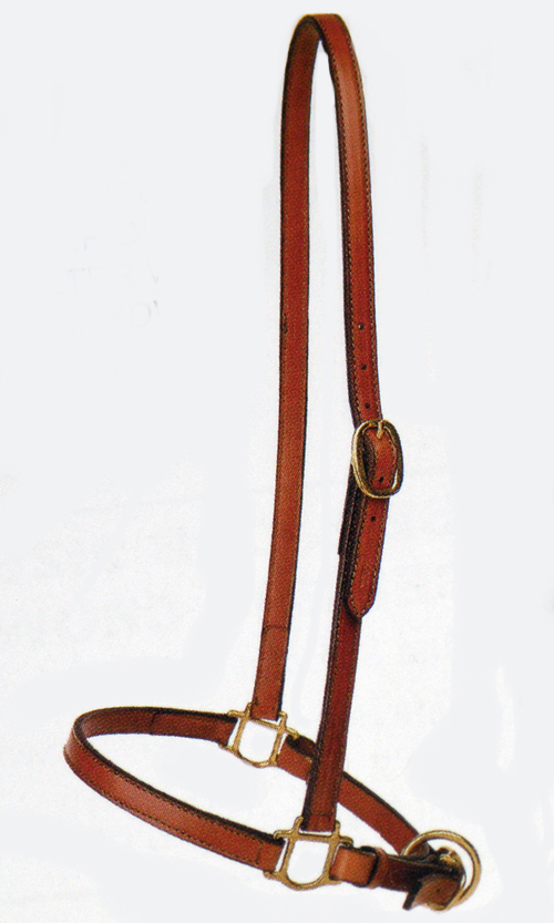 Geniune Leather Tory Grooming Halter - Horse Size