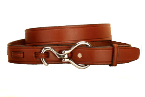 Equine oakbark leather hoof pick belt from Tory Leather. Proudly Made in the USA