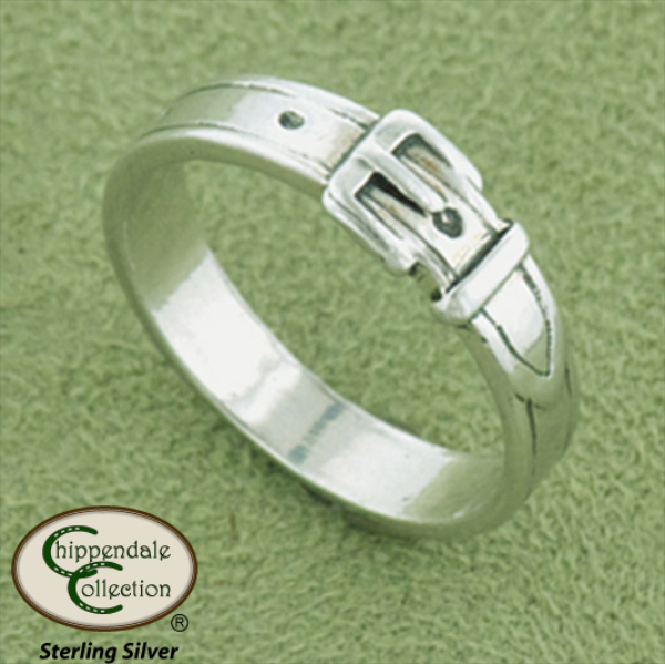 Equestrian Buckle Ring - Horse Jewelry
