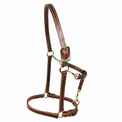 Convertible Leather Walsh Halter