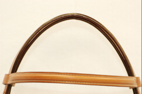 Edgewood leather bridle crown piece.