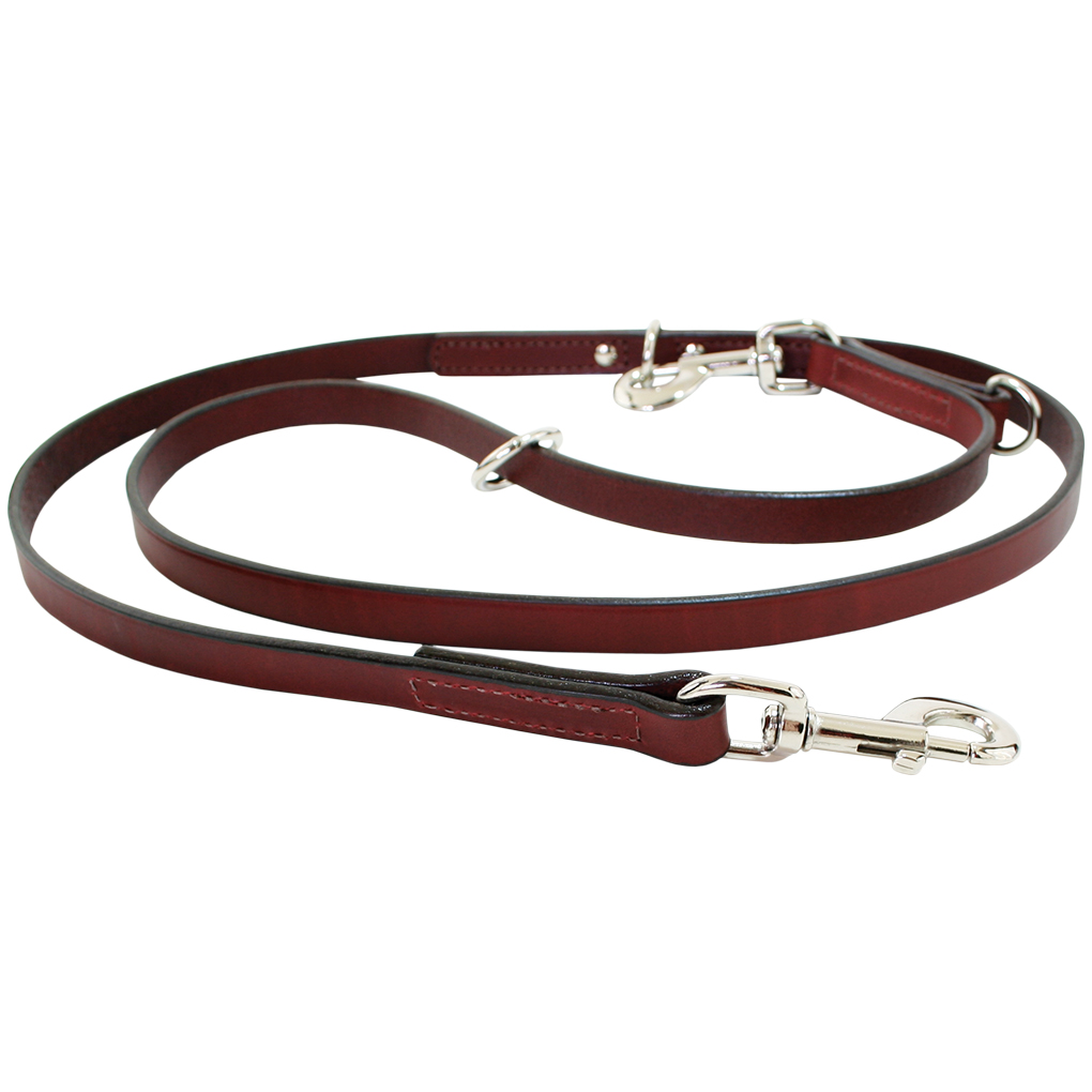 Multi-Function Leather Dog Lead