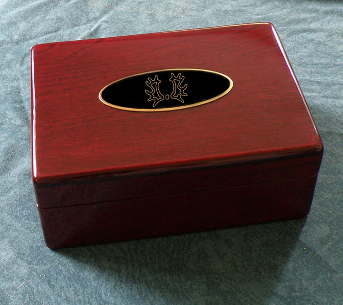 Horse Breed Logo Jewelry Box - LG