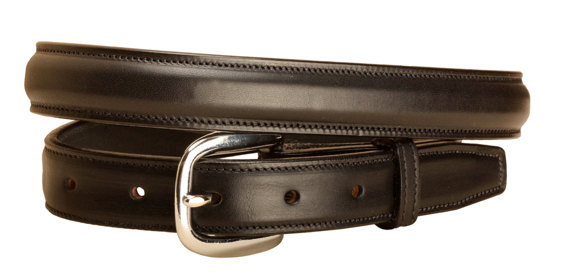 Raised Leather Belt - 1 Inch Wide - Equestrian