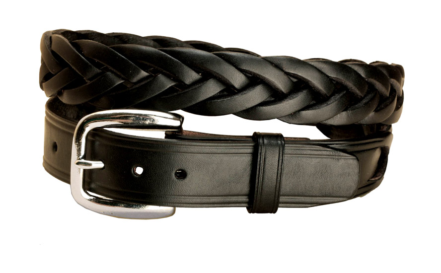 Braided Leather Belt Equestrian