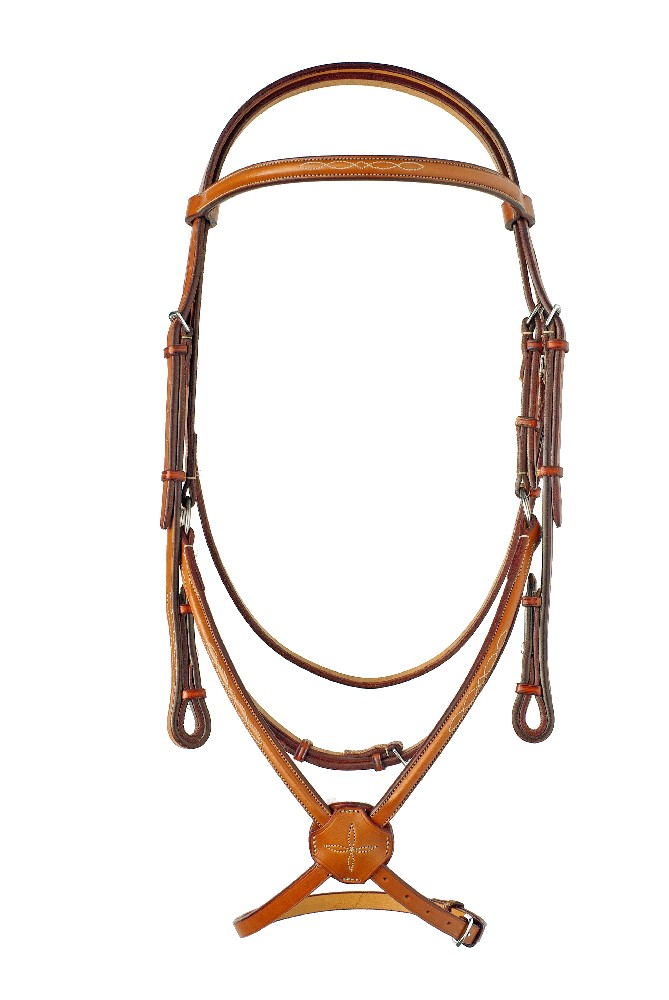 "1/2"" Fancy Stitched Raised Edgewood Bridle 1/2"" with a Fancy Stitched Figure 8 Noseband and fancy stitched padded browband."