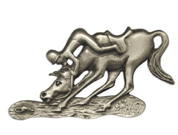 Spooking Horse Pin
