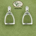 Medium Fillis Stirrup Earrings - English Horse Jewelry