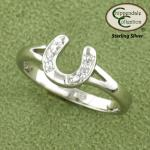 Horseshoe Ring - Horse Jewelry