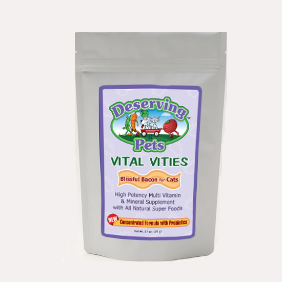 Vital Vities high quality vitamins for cats from Deserving Pets